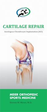 Cartilage Repair Procedures offered by Dr. Meier
