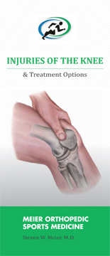 Orthopedic Knee Procedures offered by Dr. Meier