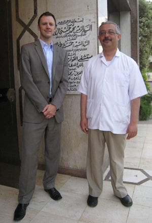 Dr. Meier in Egypt